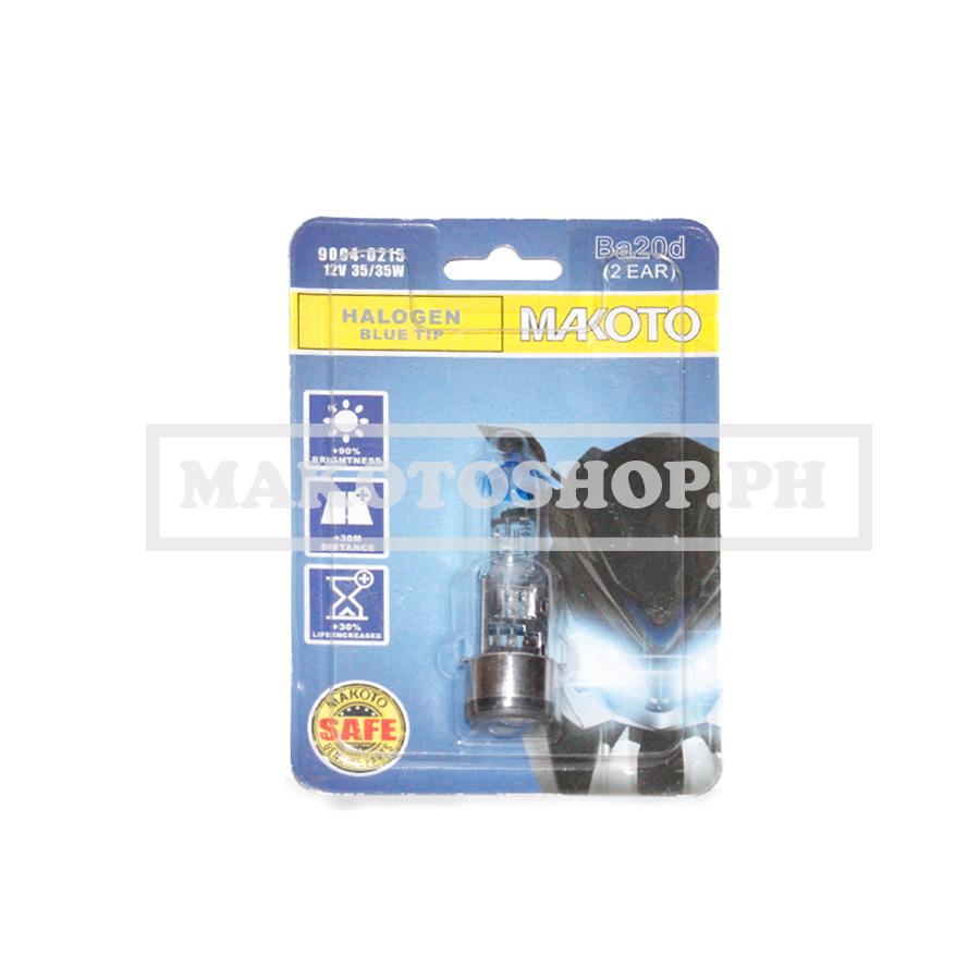 BULB, H/LIGHT 12V 35/35w (BLUE TIP) (2LEG) (MAKOTO)